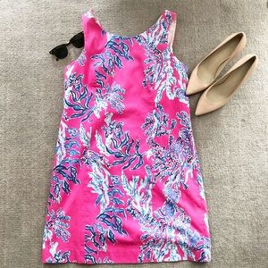 Lilly Pulitzer 'samba' pink Cathy shift dress